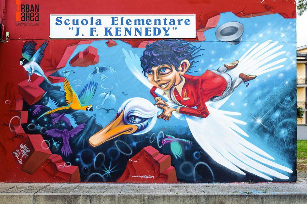 Luispak per Urban Area Open Spase Salerno 2015
