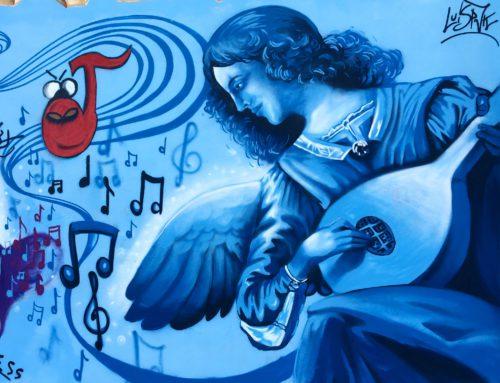 Corso di avvicinamento alla Street Art all'Istituto Alfano I di Salerno