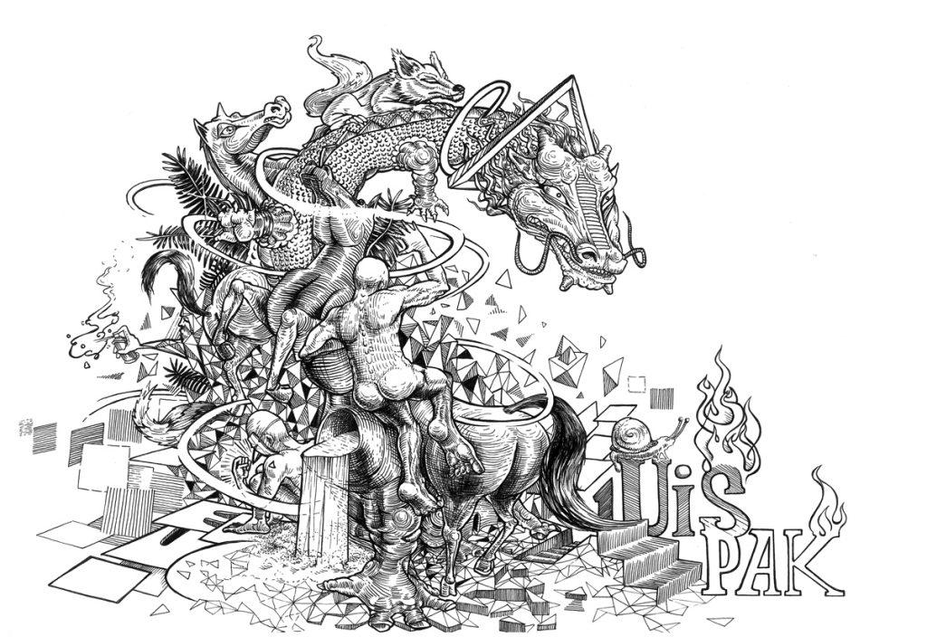 DRAK (C) - ink on paper 2015