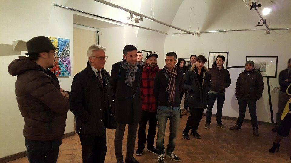 Luispak & Il Sindaco di Salerno Vincenzo Napoli