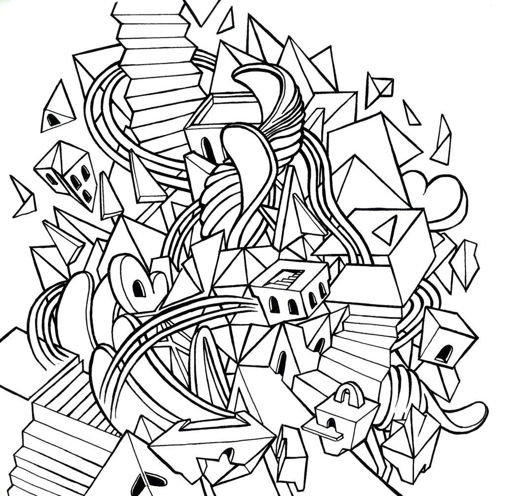 Prime linee illustrazione Futur-e Enel