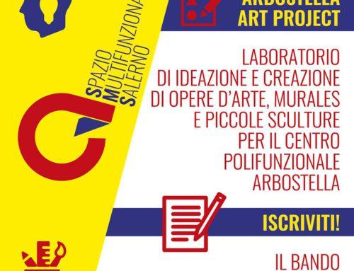 """Corso di avvicinamento ai graffiti e alla street art per """"Arbostella Art Project"""""""